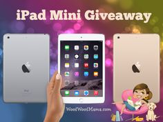 Giveaway: WIN an iPad Mini 3 16GB Wi-Fi Edition | Woof Woof Mama