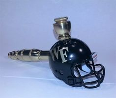 9d8bfd10 Wake Forest Demon Deacons   Helmet Pipe   Straight Design   Brass Finish    ACC Helmet Pipe by DCHelmetPipes on Etsy