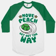 Move Peach Get Out The Way -- ha! For Pat
