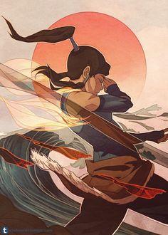 Avatar the last airbender, avatar aang, team avatar, the legend of ko Avatar Aang, Avatar The Last Airbender Art, Team Avatar, Fanarts Anime, Manga Anime, Anime Art, Avatar World, Avatar Series, Korrasami