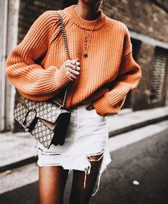 white denim mini skirt outfit casual #details #detailsmatter #stylish #style #closet #closetgoals #closeup #obsessed #pinoftheday