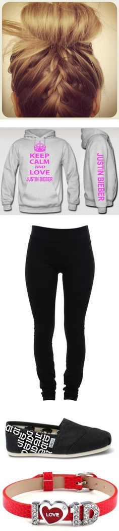 """""""Keep Calm And Love Justin Bieber"""" by tedybaer ❤ liked on Polyvore"""
