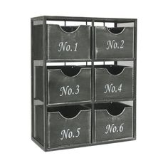 Well Sorted Wall Storage Unit | dotandbo.com
