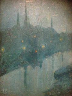 Ville dans la brume, Roberto Montenegro