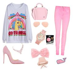 """""""Pink"""" by noa-djenaba ❤ liked on Polyvore"""