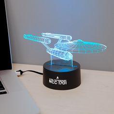 Star Trek The Original Series USS Enterprise Led light.......