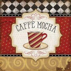 Cafe Logo, Canvas Art, Canvas Prints, Art Prints, Coffee Wall Art, Stencil, Coffee Images, Coffee Painting, Tea Art