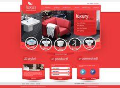 Luxury Brand Free PSD Template