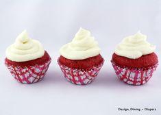 Gluten-Free Red Velvet Mini Cupcakes Recipe...