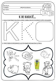 Atividade pronta - Letra K