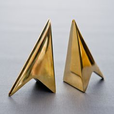 carl aubock brass bookends mid century -- Available for purchase at our store BEAM / Williamsburg Brooklyn / www.beambk.com