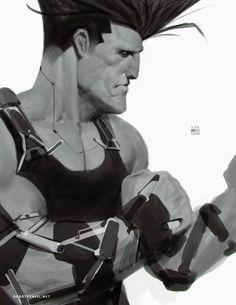 Deus Ex Meets Street Fighter