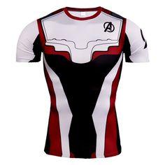 Avengers Endgame Antman T-Shirts Cosplay Advanced Tech Compression Superhero Tee
