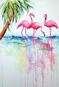 25 wallpapers de flamingos mais legais do pinterest - Universo de Inspiração