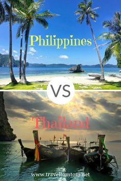 Comparing two of my favorite countries to travel: Thailand vs Philippines. Read where I think is the best food, moer culture or the best landscapes and nature. Also comparing prices so you can choose where to travel. Thailand or Philippines?