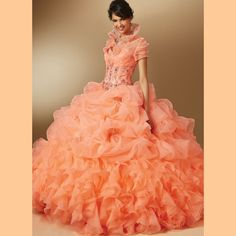 >> Click to Buy << Sweetheart Beading Coral Quinceanera Dresses with Jacket Lace Up 15 Party Dress Ball Gown Organza Vestido de quinceanera 2016 #Affiliate