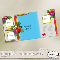 Be Inspired - Double Pages Vol.5 by AADesigns