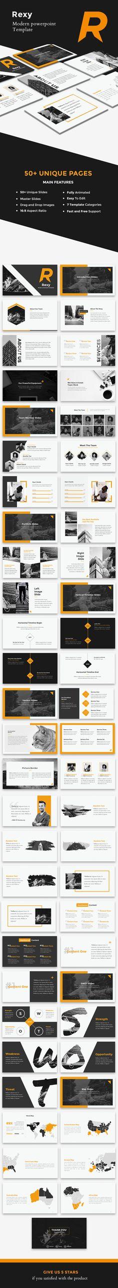 Rexy - Modern PowerPoint Template