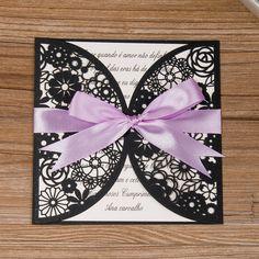 Románticas invitaciones a bodas - Corte laser profesional -  http://tiendamydesign.com/productos/romanticas-invitaciones-bodas-corte-laser-profesional