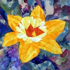 silver linings quilting pattern daffodil