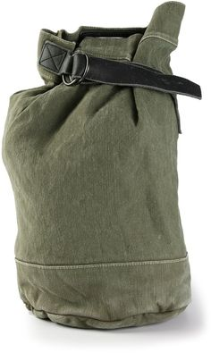 Yohji Yamamoto single strap backpack