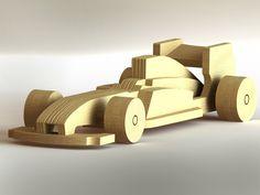 F1 toy car - STEP / IGES - 3D CAD model - GrabCAD