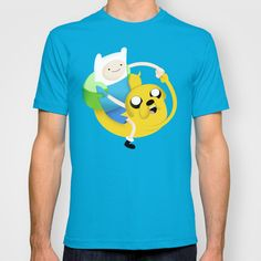 Bro Fist Adventure Time T-shirt by inkedwell