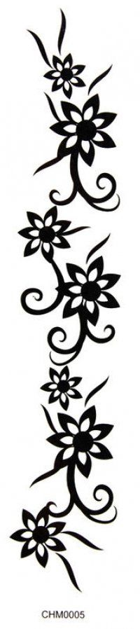 King Horse Tattoo stickers armbands waist tape flower tattoo stickers