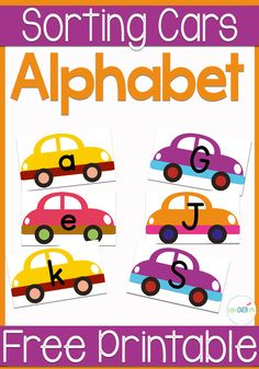 Students learning letters are going to LOVE this FREE set of upper and lower case letters!  Fun car theme where each car need to be matched to it's garage!  Help students with letter recognition and matching skills  Easy setup and long lasting when laminated!