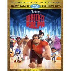 Wreck It Ralph (Four-Disc Combo: Blu-ray 3D/Blu-ray/DVD + Digital Copy)