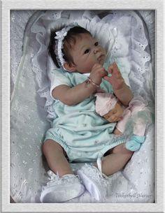 TINKERBELL NURSERY REBORN baby Prototype doll by Helen Jalland Adrie