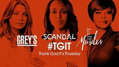 TGIT - Grey's Anatomy, Scandal & How to Get Away with Murder Crossover Promo