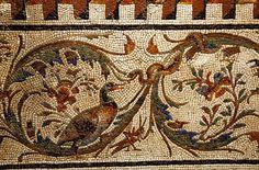 Ancient Roman mosaic, Museo Montemartini.   #TuscanyAgriturismoGiratola