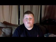 This kid is my hero. Everyone needs to watch it. 11 year old reads comments about him and it's heart breaking - YouTube