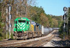 RailPictures.Net Photo: FURX 3029 First Union Rail (FURX) EMD SD40-2 at Dacula, Georgia by Bryan George