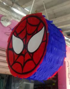 Easter Birthday Party, Birthday Pinata, Third Birthday, Boy Birthday Parties, Avengers Birthday, Superhero Birthday Party, Diy Eid Decorations, Paper Mache Diy, How To Make Pinata