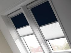 Skylight curtain solution - Duo Blackout Blinds (DFD) VELUX