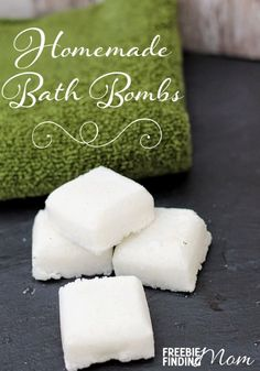 Homemade Bath Fizzies Recipe - When was the last time you indulged in a luxurious and relaxing bath? If you can't even recall, it's due time to treat yourself (and your body) to a good soak that will leave your skin feeling moisturized and your body rejuvenated. Just drop a couple of these homemade bath bombs into a tub of water and lay back. Ah...Feel free to add your favorite essential oils to this recipe to create your ideal bath.