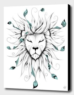 «Poetic King», Numbered Edition Fine Art Print by LouJah - From $49.00 - Curioos