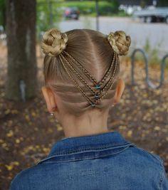 Split braided ponies into pigtail buns inspired by the creative and amazing @pr3ttygirl79 . . . . . #braid #braids #braided #braiding #braidideas #braidsforgirls #flette #peinado #tresse #trenza #pelo #hair #hairdo #hairstyle #hairideas #hairinspo #hairofinstagram #hairoftheday #hår #braidedbun #fall #høst