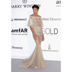 CAP D'ANTIBES, FRANCE - MAY 19:  Model Chanel Iman attends the amfAR's 23rd Cinema Against AIDS Gala at Hotel du Cap-Eden-Roc on May 19, 2016 in Cap d'Antibes, France.  (Photo by Dominique Charriau/WireImage)