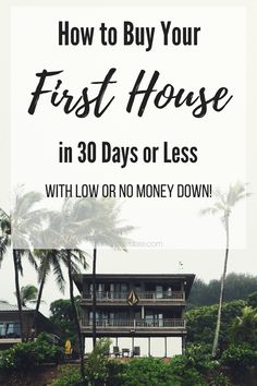 Yes, my friend you can be a home owner too. Read this post to find out how to buy your first home with low or no money down.