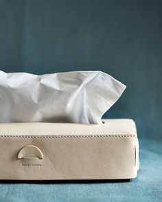 Hender Scheme Leather Tissue Box Cover (OUT OF STOCK)