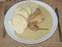 Šťavnatý králík s omáčkou Dairy, Cheese, Chicken, Meat, Life, Cooking, Cubs