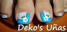 hktkukt Pedicure Designs, Pedicure Nail Art, Toe Nail Designs, Toe Nail Art, Mani Pedi, Toe Nails, Cute Toes, Pretty Toes, Pretty Nails