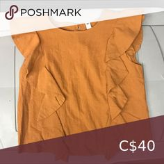 Bp nordstrom top Excellent condition like new! 🤙 Message me with questions  Always open to offers Nordstrom Tops Blouses Plus Fashion, Fashion Tips, Fashion Trends, Orange Color, Nordstrom, Blouses, This Or That Questions, Outfits, Things To Sell