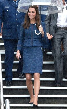 Catherine Duchess of Cambridge, in Rebecca Taylor, on her last day in New Zealand. April, 2014.