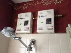 Point-of-Use Electric Tankless Water Heaters Now that I have installed several of these small, efficient water heaters in my house, I am an evangelical convert to the technology  (free content but registration required)