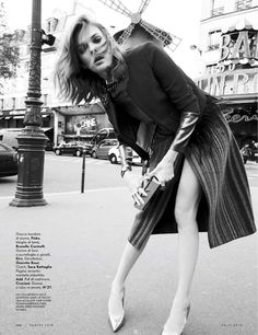 visual optimism; fashion editorials, shows, campaigns & more!: paris esterno giorno: kersti pohlak by alan gelati for vanity fair italia 26th november 2014