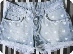 Shorts Customizados (60 fotos) « Dona Giraffa                                                                                                                                                                                 Mais